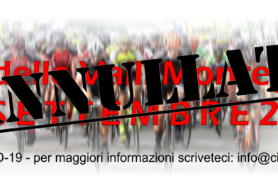 Annullata la XXIII edizione del Giro delle Valli Monregalesi.